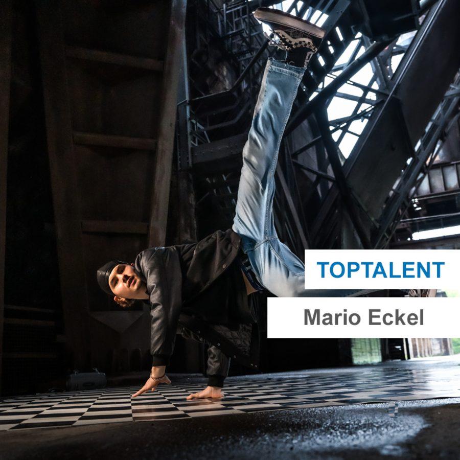Toptalent Mario Eckel: Breaking-Move