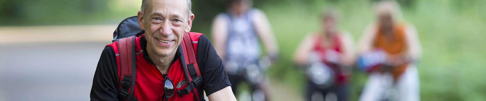 Bewegt ÄLTER werden in NRW! Radfahrer Senioren