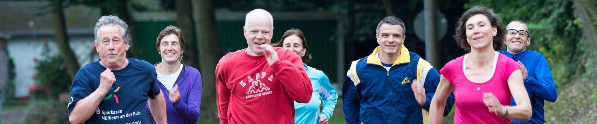 Headerbild Sport und Bildung Jogginggruppe Senioren