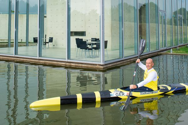 Kanu-Trainer Robert Berger