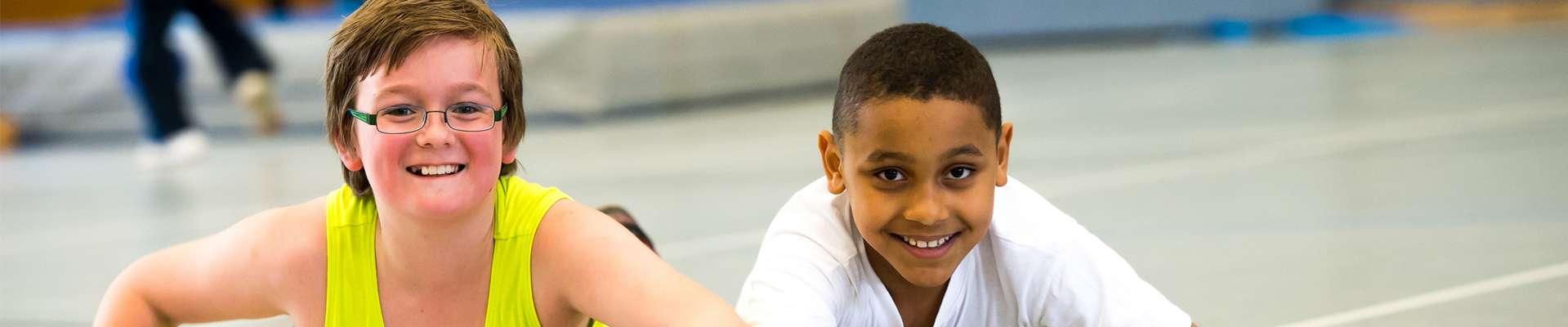 Integration und Inklusion durch Sport: Kinder beim Sport