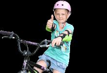 Förderungen und Zuschüsse für Sportorganisationen: Mädchen auf Fahrrad