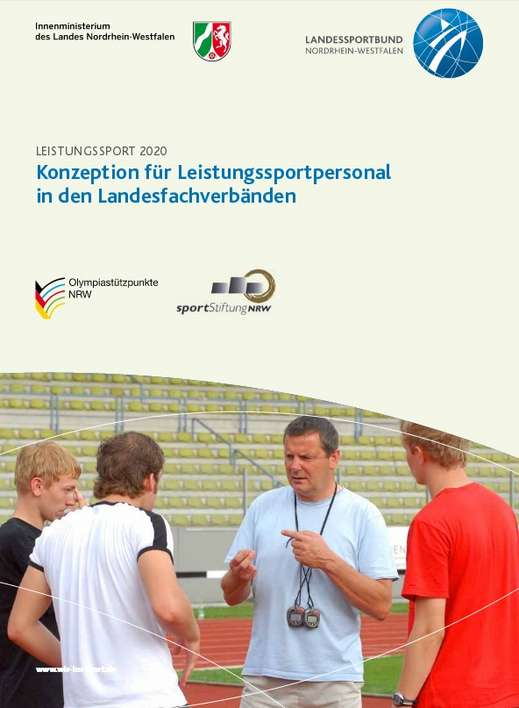 Cover Konzeption Leistungssportpersonal in den Landesfachverbänden