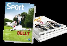 """Titelseite LSB Magazin """"Wir im Sport"""""""