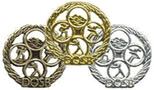 Das deutsche Sportabzeichen in Gold, Silber, Bronze