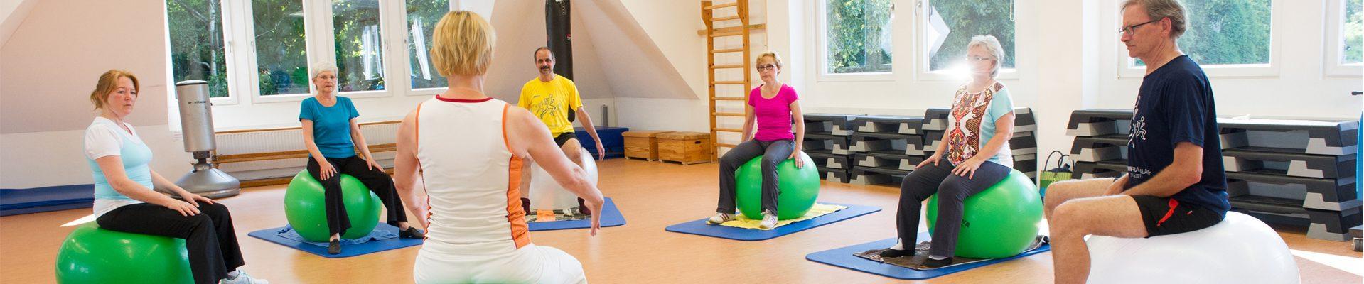 Bewegt GESUND bleiben in NRW! Training mit Pezziball in der Gruppe