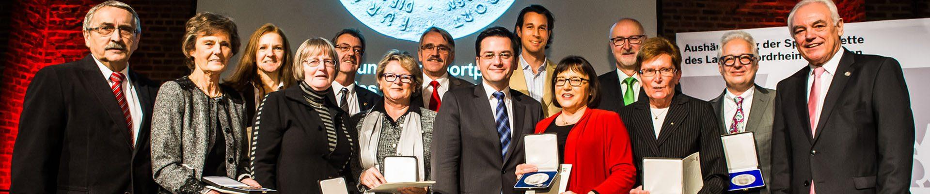 Preisträger der Sportplakette des Landes NRW