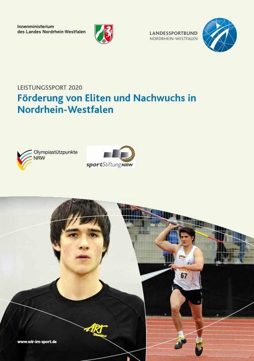 Cover Konzept Leistungssport 2020 Förderung von Eliten und Nachwuchssportlern