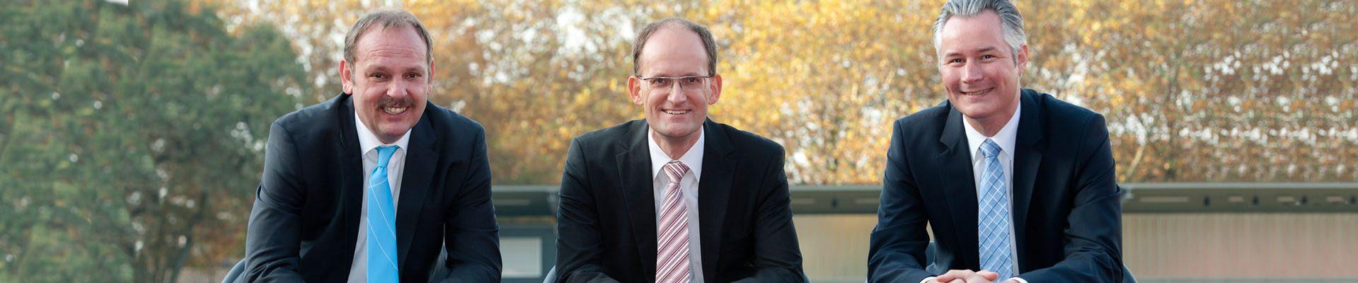 Teaser LSB-Vorstand: M. Wonik, Dr. C. Niessen, I. Waßenhoven
