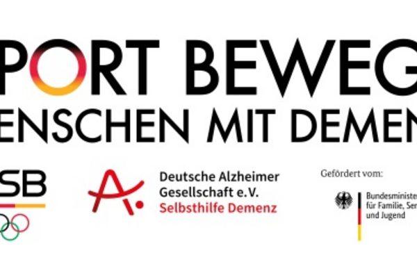 Logo Sport und Demenz des DOSB