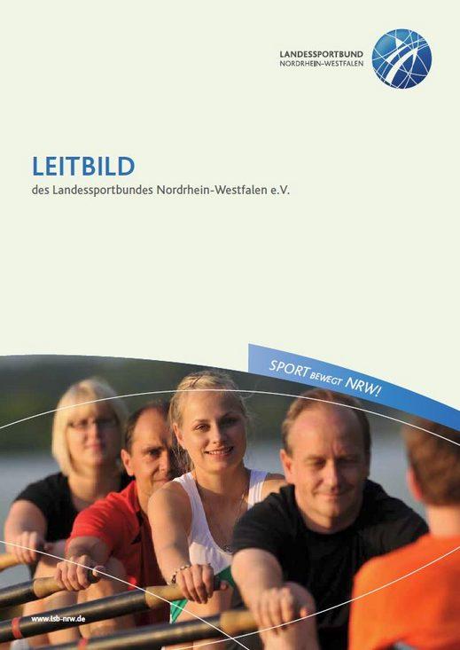 Cover Leitbild des LSB NRW