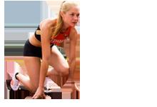 Förderung des Leistungssports in NRW: Leichtathletin Gina Lückenkemper