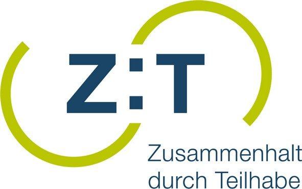 """Logo Bundesprogramm """"Zusammenhalt durch Teilhabe"""""""