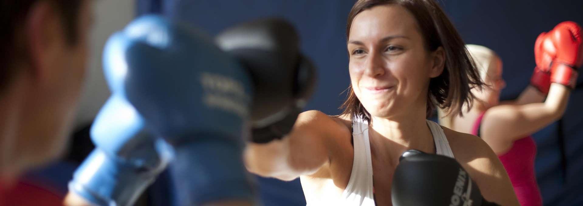 Footerbild Bewegt GESUND bleiben in NRW! Boxtraining Frauen
