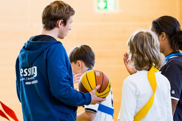 Schulsport Basketball