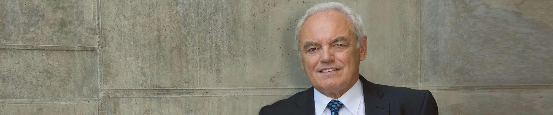 Landessportbund-Präsident Walter Schneeloch