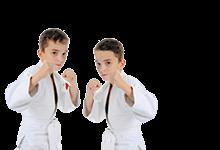 Sport für Kinder und Jugendliche: zwei junge Kampfsportler