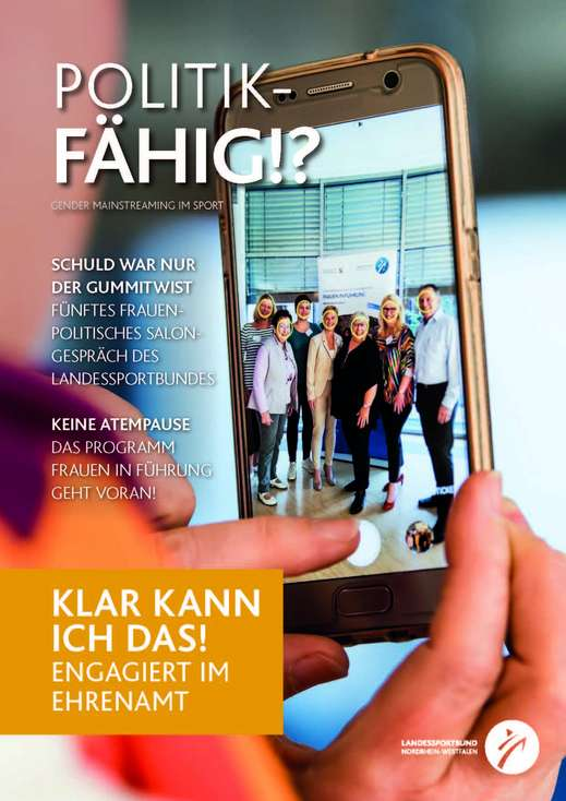 "Cover Magazin ""Chancengleichheit -politikfähig!?"""
