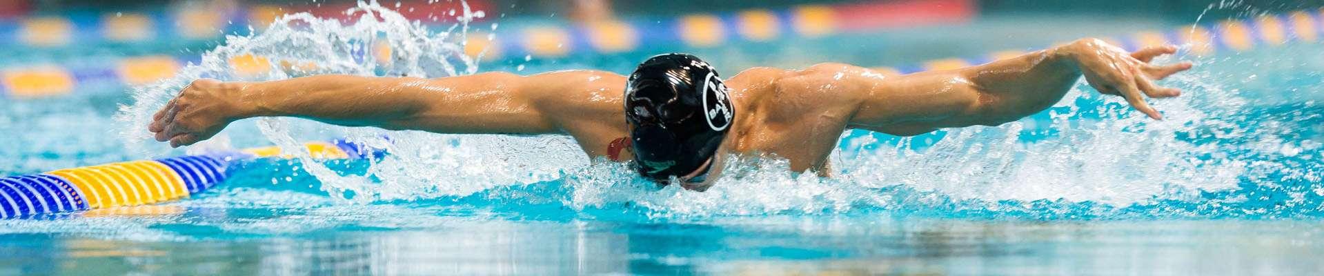 Teaser Vermarktungspartner des LSB NRW: Schwimmer taucht ab