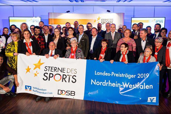 Personen bei der Verleihung Sterne des Sports 2019