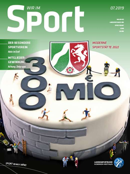 Cover Wir im Sport 7/2019