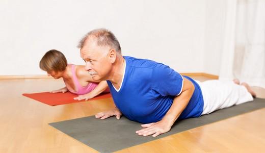 Bewegt GESUND bleiben: Übungen auf Gymnastikmatte