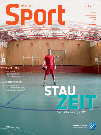 Cover Wir im Sport 3/2016
