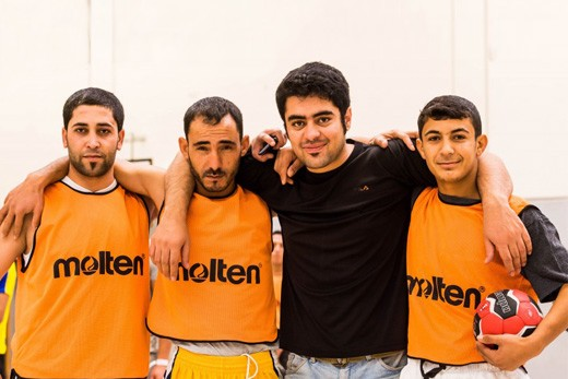 Ballsportgruppe Flüchtlinge