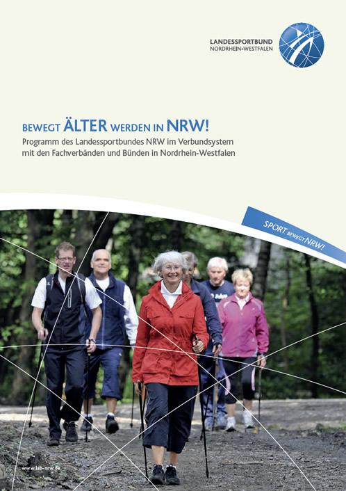 Titelseite des Konzepts Bewegt ÄLTER werden in NRW!